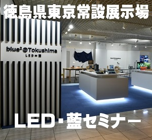 東京常設展示場LED・藍セミナー